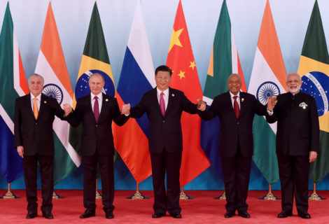 The BRICS nations and their symbol of Independence
