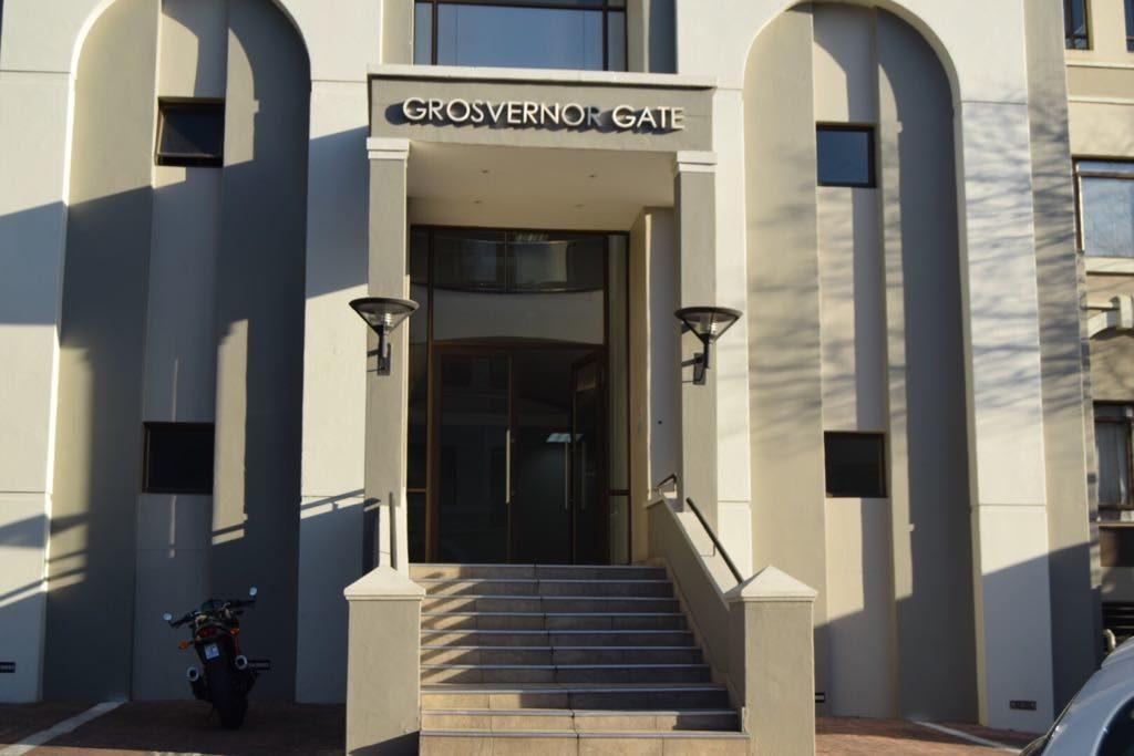 Grosvernor Gate Building Front Door