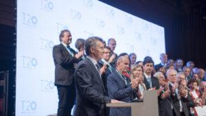 Mauricio Macri - T20 Summit