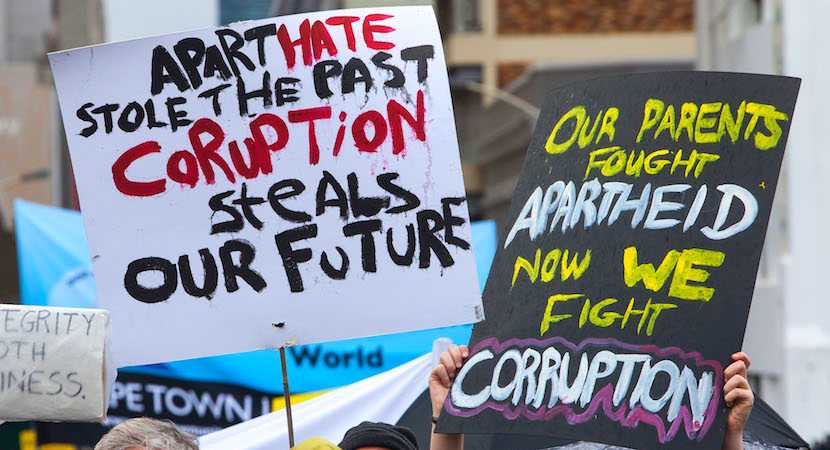 The heritage of corruption in leadership