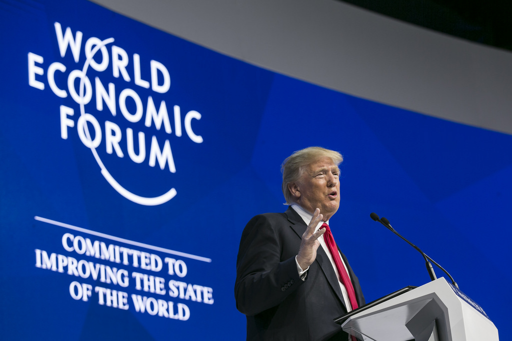 Can Davos stop the spiral of protectionism?